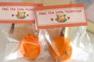 """Peel"" the love Valentine… Cuties Valentine Idea"