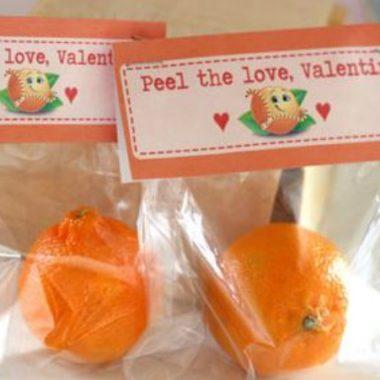 """""""Peel"""" the love Valentine… Cuties Valentine Idea"""