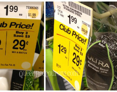 Safeway : as low as $0.29 for cleaning products, No coupons needed