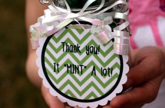 "It ""Mint"" a lot  {Thank you gift}"
