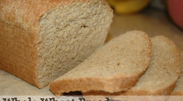 Making Homemade Whole Wheat Bread from Scratch