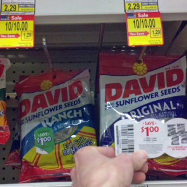Albertsons Free David Sunflower Seeds (Starting Sunday)