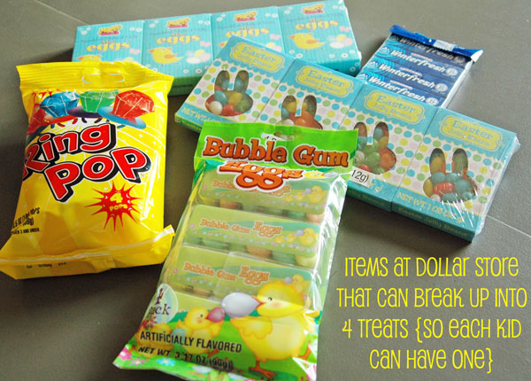 4 easter basket ideas on a dollar store budget easterp3 negle Choice Image