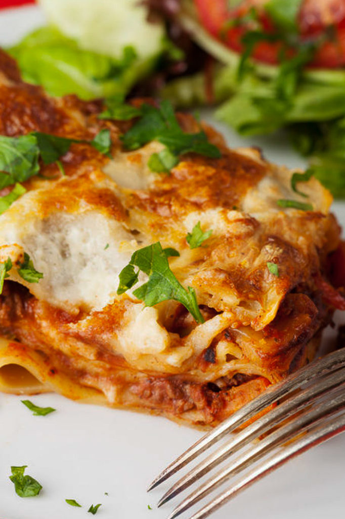 The most perfect homemade easy lasagna recipe freezer meal ever.