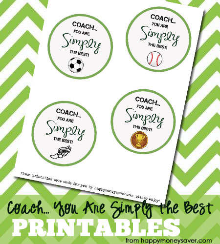 "Coach, You are ""Simply"" the BEST free printable - HappyMoneySaver.com"