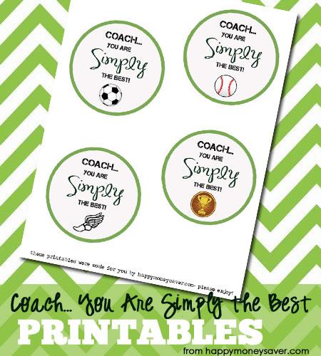 "Coach, You are ""Simply"" the BEST free printable - HappyMoneySaver.com"