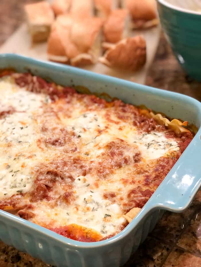 best lasagna recipe of all time.