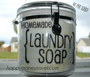Homemade Laundry Detergent Recipe - Happymoneysaver.com