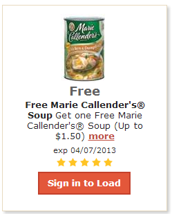 Fred Meyer: FREE Marie Callender's Soup