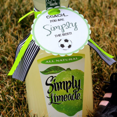 "Coach, You are ""Simply"" The BEST! {Great coach gift ideas }"