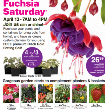Fred Meyer: Planting Event this Saturday!