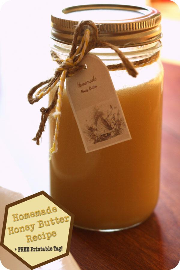 Honey Butter Recipe