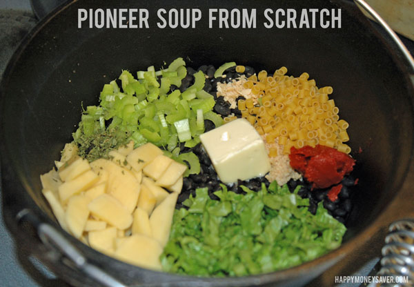 Pioneer Soup from Scratch