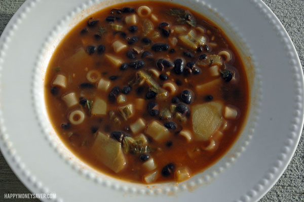 Vegetarian Soup From Scratch