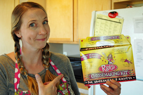 Rickis Cheesemaking kit