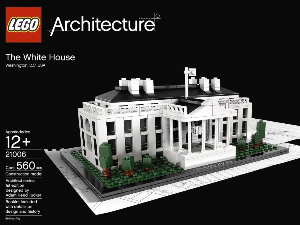 Lego Architecture White House 21006: Lego Whitehouse $35.95 Shipped (reg $44.95)
