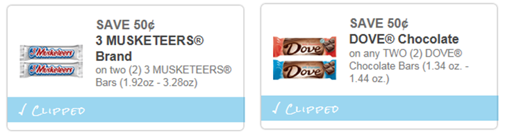 Need Chocolate?! 2 Chocolate Coupons only $0.43 per bar at Walmart - Happy Money Saver