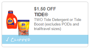 Fred Meyer| Tide Liquid Laundry Detergent 50 oz only $4.24 through 5/4