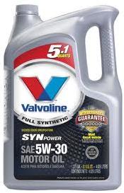 Save 5 on valvoline 5 qt motor oil at walmart for Motor oil coupons walmart