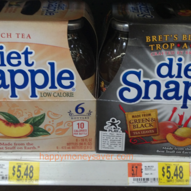 *update* Coupons.com| New Snapple Coupon only $3.50 at Safeway