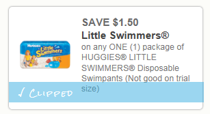 Save $1.50 on Huggies Little Swimmers = Great Deal at Rite Aid starting 6/9