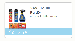*WOW* $1 off ANY Raid Product Coupon with NO SIZE RESTRICTION = Fly Strips only $0.12 at Walmart