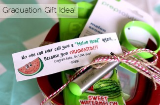 Melon Head Graduation Gift Idea