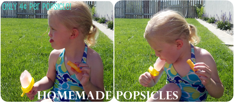 Summer Fun Activities on a Budget for Kids | Homemade Popsicles