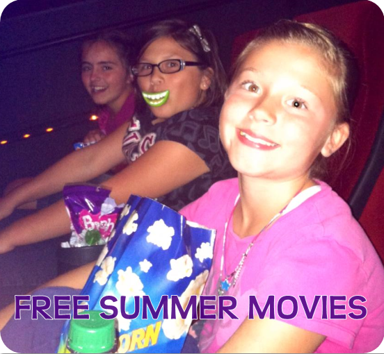 Summer Fun Activities on a Budget | Free Summer Movies!