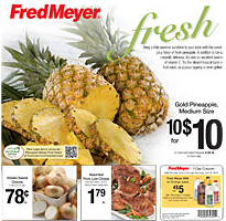 Fred Meyer Deals this week: Pineapples $1.00 each! (Stock up price)