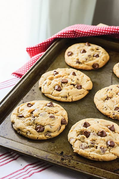 The MASTER Chocolate Chip Cookie Recipe. I've found it! | happymoneysaver.