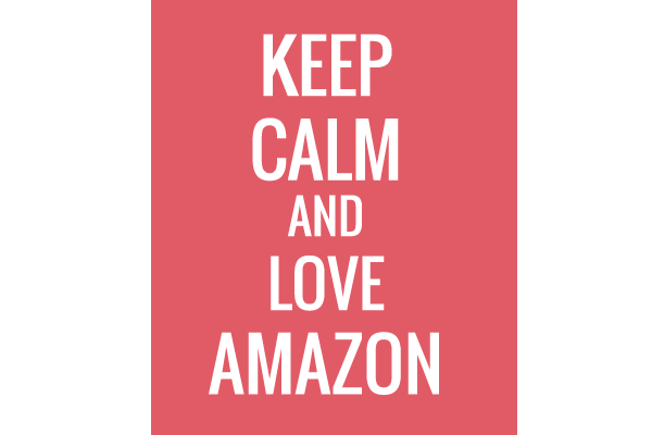 Keep Calm and Love Amazon