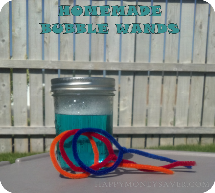 Summer Fun Activities on a Budget | Homemade Bubbles