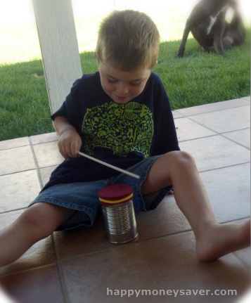 Summer Fun Activities on a Budget   Homemade Bongo, Shaker and Guiro All in One!