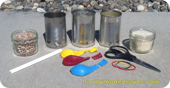 Summer Fun Activities on a Budget | Homemade Bongo, Shaker and Guiro All in One!