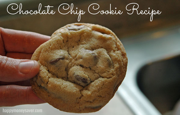 The Master Chocolate Chip Cookie Recipe