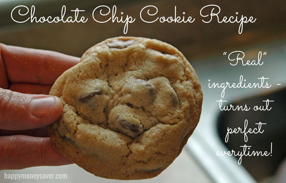 Best chocolate chip cookie recipe - EVER. TRUST ME on this. I have made a kazillion recipes.