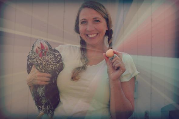 The first chicken egg found