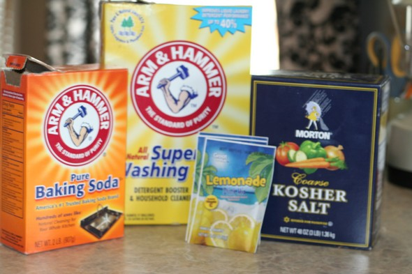 ingredients for homemade dishwashing detergent