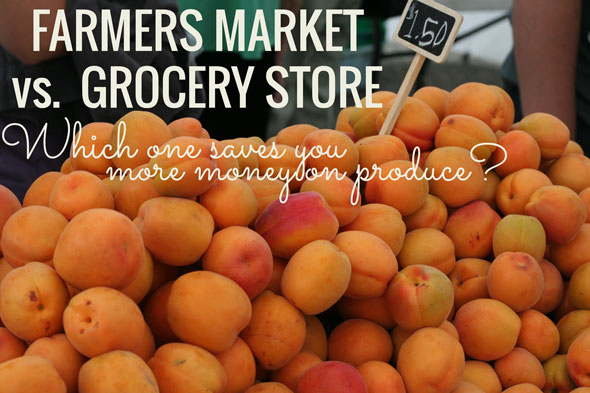 Cool post answers this question: Does the Farmers Market or Grocery store have better prices