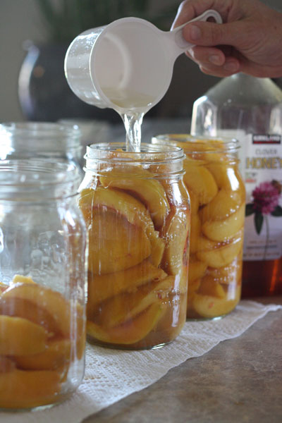 Canning Fresh Peaches No Sugar Recipe
