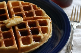 Sweet Milk Homemade Waffles Recipe