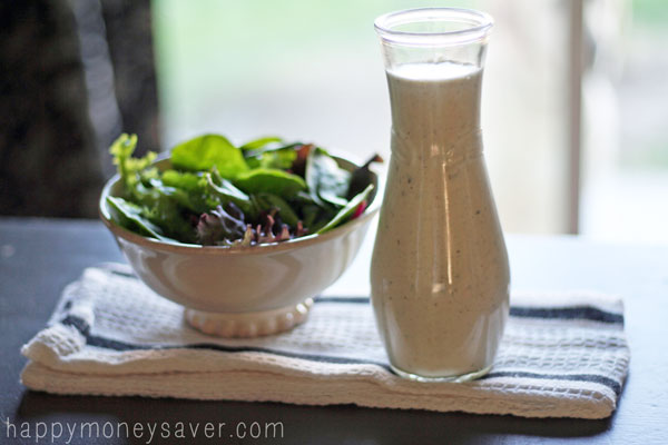 "Homemade Copycat ""Hidden Valley Ranch"" dressing recipe - so easy and tastes just like the real thing!!!"