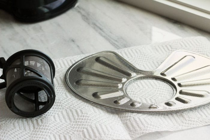 How to Clean your Dishwasher filters