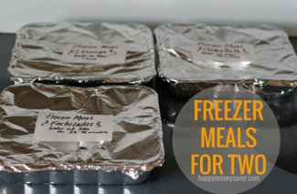 Freezer Meals for Two