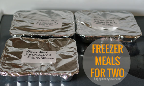 how to cook freezer meals for two