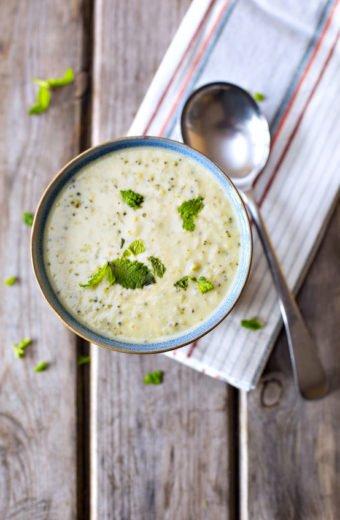 Creamy Cheesy Broccoli Soup recipe freezer meal
