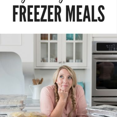 Freezer Meal Tips for Beginners