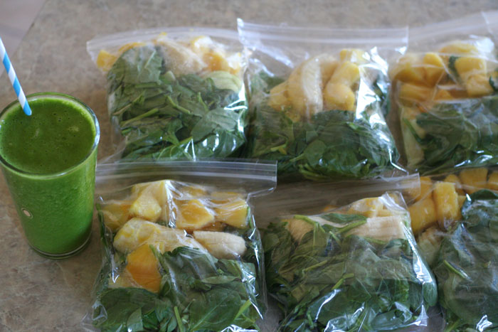 Make Ahead Green Smoothies Or Any Smoothie