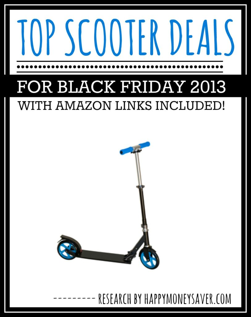 Top scooter deals for black friday 2014 roundup for Motorized scooter black friday